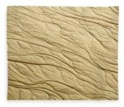 Sand Patterns Fleece Blanket
