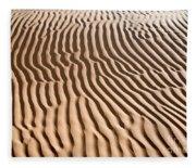Sand Ripples Fleece Blanket