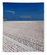 Sand Trails Fleece Blanket