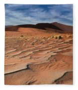 Sand Waves  Fleece Blanket