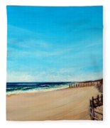 Sandbridge Virginia Beach Fleece Blanket