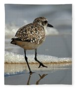Sanderling Gulf Of Mexico Fleece Blanket