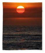 Sandi's Sunset By Diana Sainz Fleece Blanket