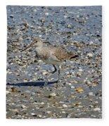 Sandpiper Galveston Is Beach Tx Fleece Blanket