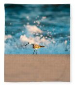 Sandpiper Fleece Blanket