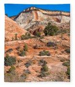 Sandstone Hills Fleece Blanket