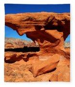 Sandstone Landscape Fleece Blanket