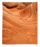 Sandstone Tide Fleece Blanket