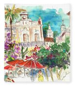 Sanlucar De Barrameda 03 Fleece Blanket
