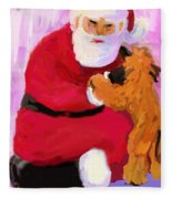 Santa Baby Fleece Blanket