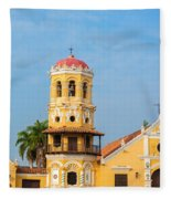 Santa Barbara Church Fleece Blanket
