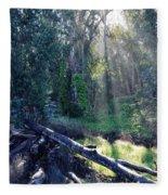 Santa Barbara Eucalyptus Forest II Fleece Blanket