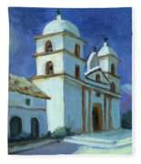 Santa Barbara Mission Moonlight Fleece Blanket