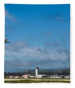 Santa Barbara Takeoff Fleece Blanket