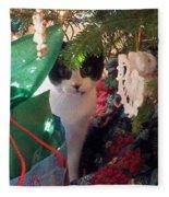 Santa Bring Tuna Fleece Blanket