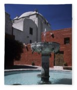 Santa Catalina Convent Fleece Blanket