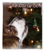 Santa - Christmas - Pet Fleece Blanket