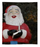 Santa Clause Fleece Blanket