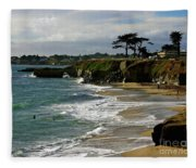 Santa Cruz Beach Fleece Blanket