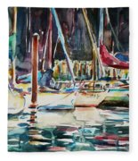 Santa Cruz Dock Fleece Blanket
