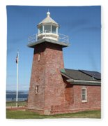 Santa Cruz Lighthouse Surfing Museum California 5d23940 Fleece Blanket