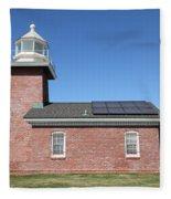 Santa Cruz Lighthouse Surfing Museum California 5d23942 Fleece Blanket