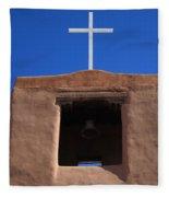 Santa Fe - San Miguel Chapel Fleece Blanket
