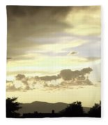 Santa Fe Sunset Fleece Blanket