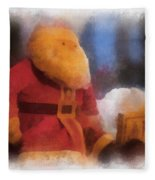 Santa Photo Art 07 Fleece Blanket