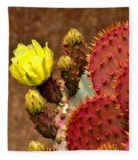 Santa Rita Cactus Fleece Blanket