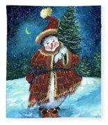 Santas Helper Fleece Blanket
