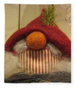 Santas Nose Fleece Blanket
