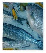 Santorini  Island Fresh  Dorados Fleece Blanket