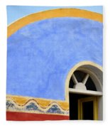 Santorini Window Fleece Blanket