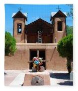 Santuario De Chimayo 2 Fleece Blanket