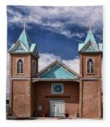 Santuario De San Lorenzo Fleece Blanket