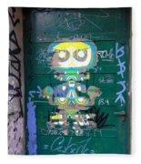 Sao Paulo Green Door II Fleece Blanket