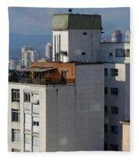 Sao Paulo Penthouse Fleece Blanket