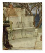 Sappho And Alcaeus Painting By Sir Lawrence Alma Tadema