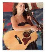 Sarah Lee Guthrie Fleece Blanket