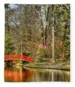 Sarah P. Duke Gardens Fleece Blanket
