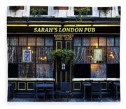 Sarah's London Pub Fleece Blanket