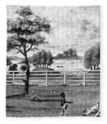 Saratoga, New York, 1794 Fleece Blanket