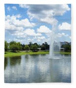 Saratoga Springs Resort Walt Disney World Fleece Blanket