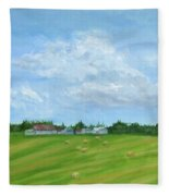Saskatchewan Summer Fleece Blanket