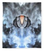 Satellite Fleece Blanket
