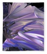 Satin Wing By Jammer Fleece Blanket