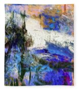 Sausalito Fleece Blanket