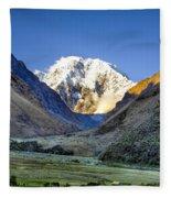 Savage Mountain Fleece Blanket