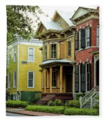 Savannah Architecture Fleece Blanket